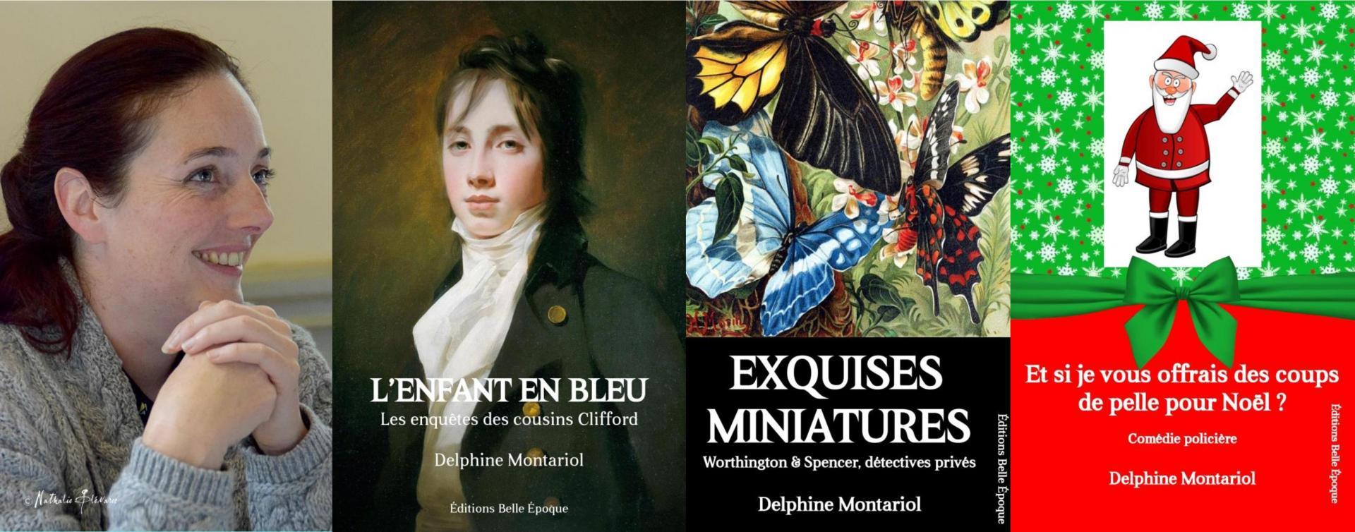 Delphine Montariol, romancière et scénariste